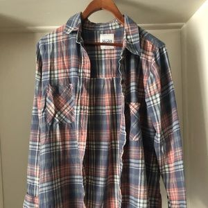 Women's oversized flannel